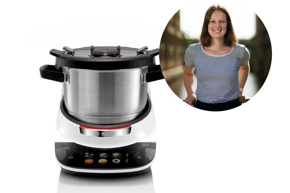 Food-Redakteurin Kira hat den Cookit von Bosch auf Herz und Nieren getestet.