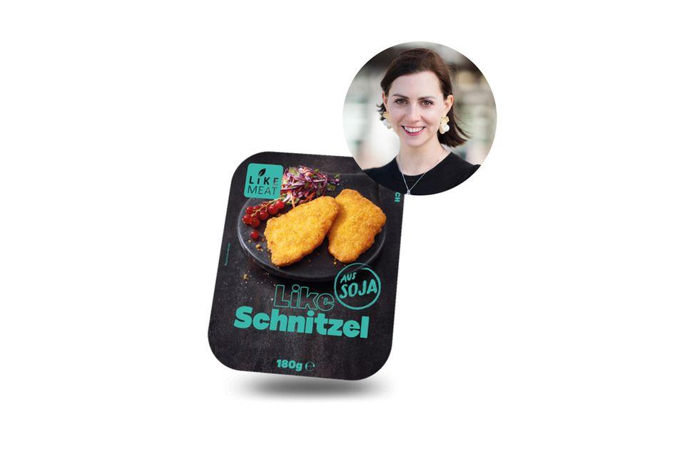 Fleischfrei satt und happy: Kathrin und ihre Familie brutzeln lieber pflanzliche Schnitzel.
