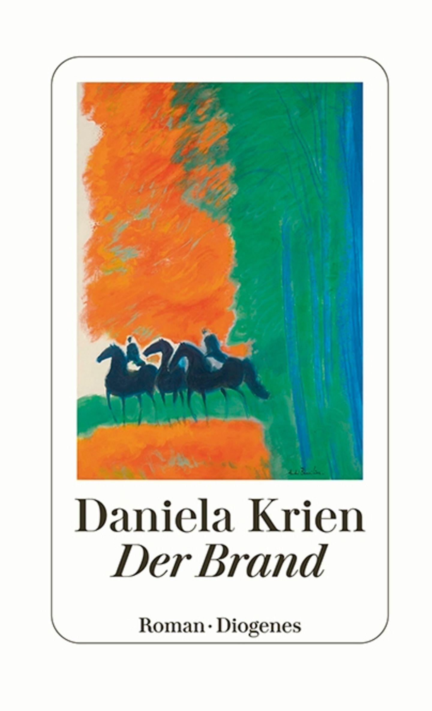 """Buchtipps der Redaktion: Buchcover """"Der Brand"""""""