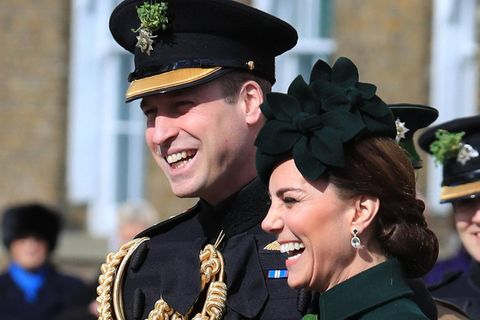 Herzogin Catherine + Prinz William: Bitte lächeln! Sie senden eine klare Botschaft an Meghan und Harry: William und Kate