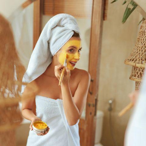 3-Zutaten-Gesichtsmaske für den Sommer