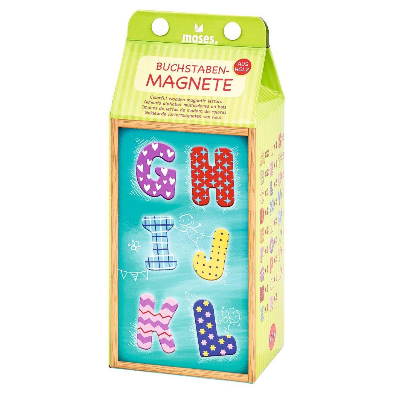 Schultüte füllen: Buchstabenmagnete