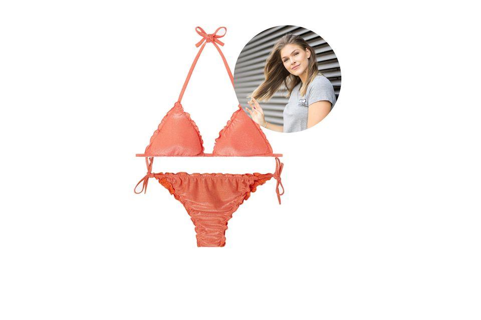 Mode- und Beauty-Redakteurin Friederike hat sich in diesen Bikini von Calzedonia verliebt.
