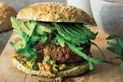 Lieblingsrezepte der Woche: Low-Carb-Burger