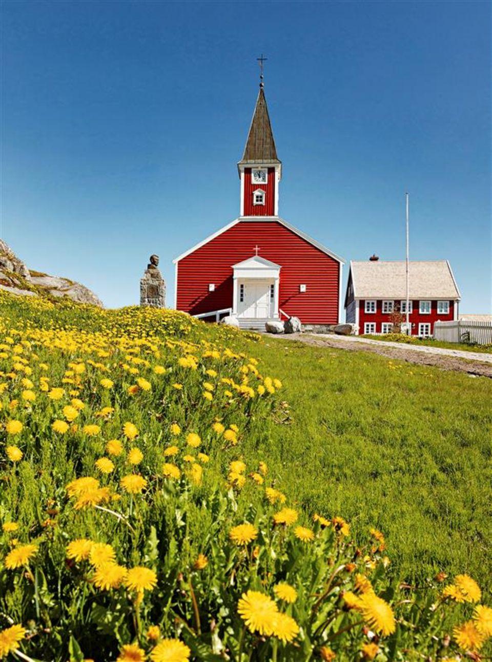 Grönland: Rote Kirche