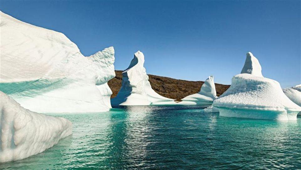 Grönland: Eisberge