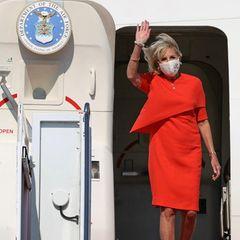 Jill Biden landet in Tokio