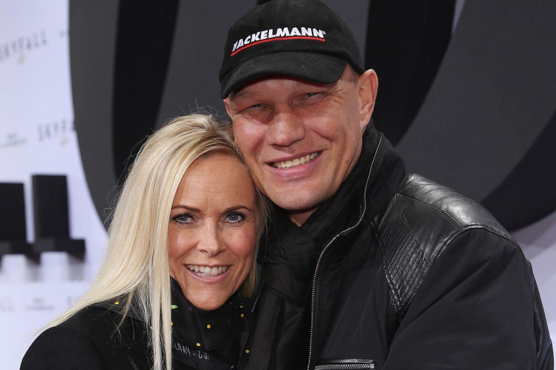 Axel Schulz mit Ehefrau Patricia.