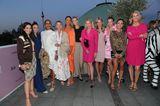 Frauen100: Veranstalterinnen mit Gästen