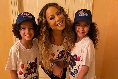 Mariah Carey mit ihren Zwillingen