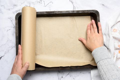 Backpapier-Trick