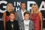 Patrick Dempsey mit seiner Familie