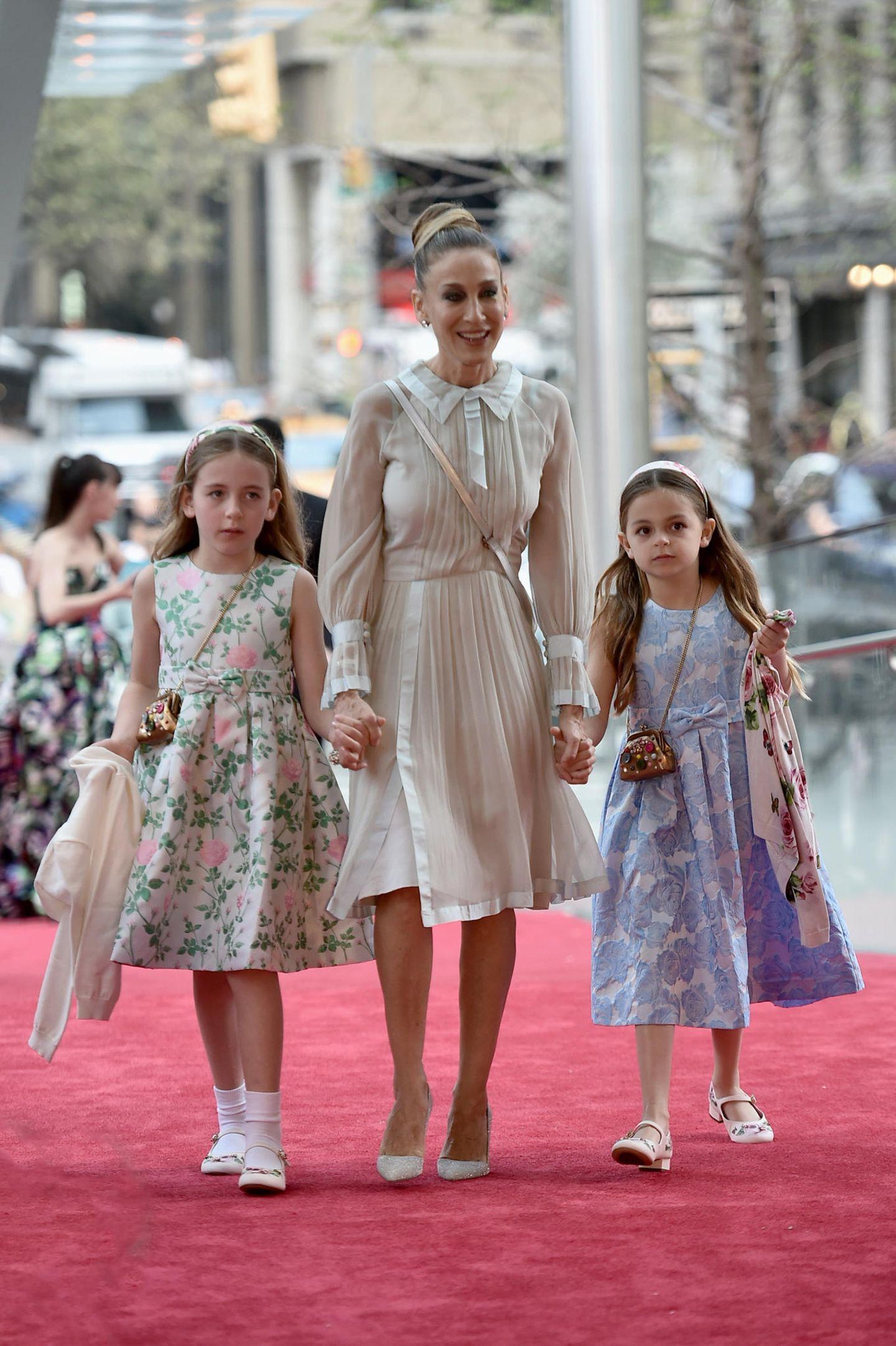 Sarah Jessica Parker mit Zwillingstöchtern