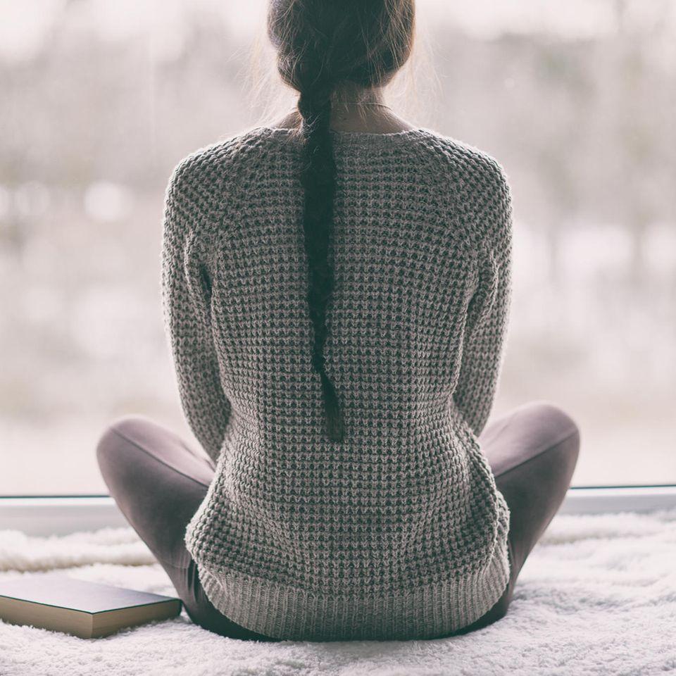 Psychologie: Eine meditierende Frau