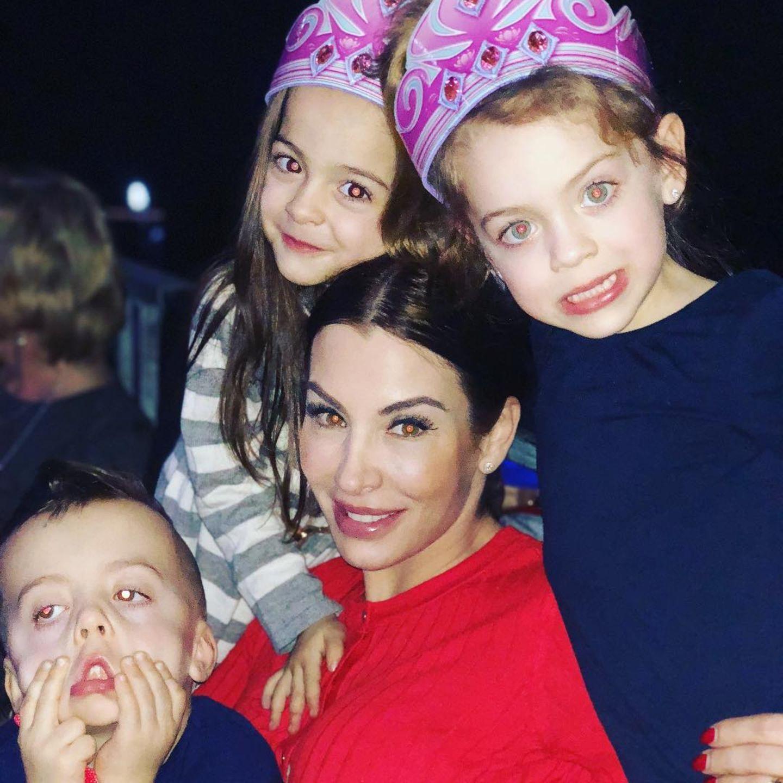 Anna Maria Ferchichi mit ihren Kindern