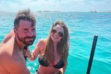 Auszeit: Thore Schölermann mit Frau Jana am Meer