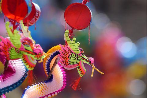 Chinesische Sternzeichen: Kleine Drachen-Figuren