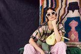 Mustermix: Fashion No-Go oder Trend? Frau mit Sonnenbrille