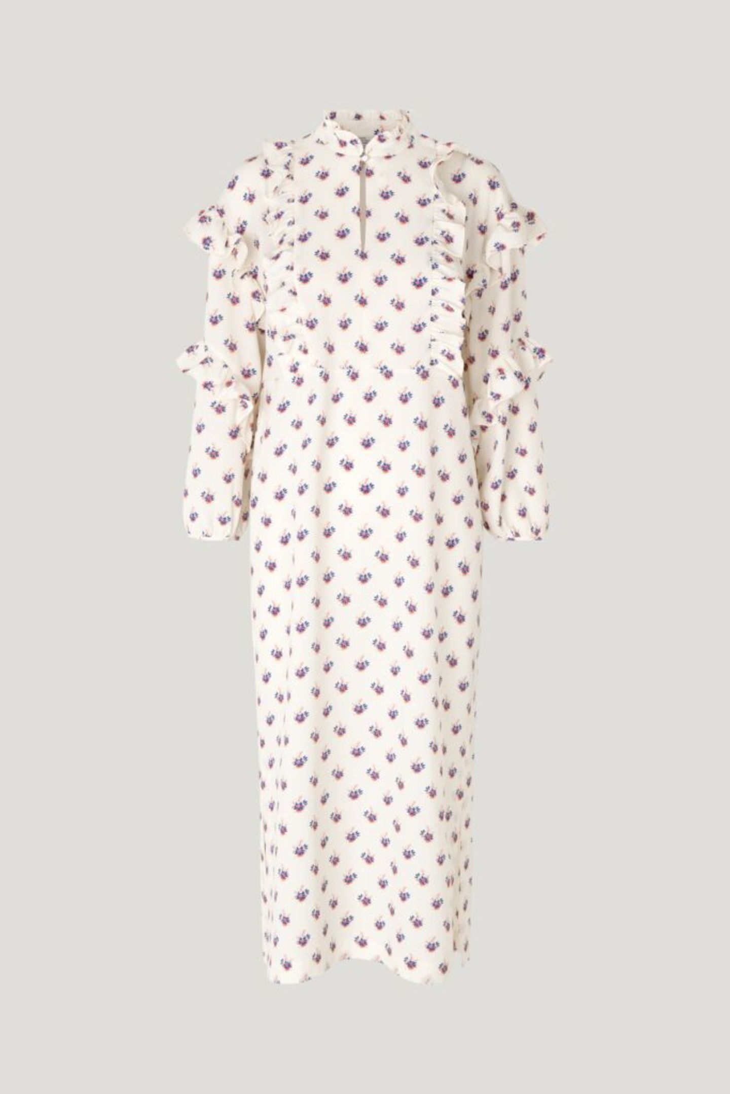 #anyoccasiondress: Kaftan-Kleid geblümt