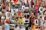 How we bleed: Mosaik von Fotos