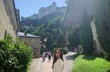 Auszeit: Ana Ivanović vor Burg