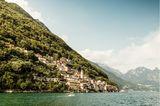 Ein echter Geheimtipp: Von Lugano führt ein malerischer Wanderweg am See entlang inswunderschöne Fischerdorf Gandria.