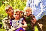Royale Kinderfotos: Fürstin Charlène und Prinz Albert von Monaco mit den Zwillingen