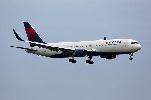 Delta Airlines: Flugzeug