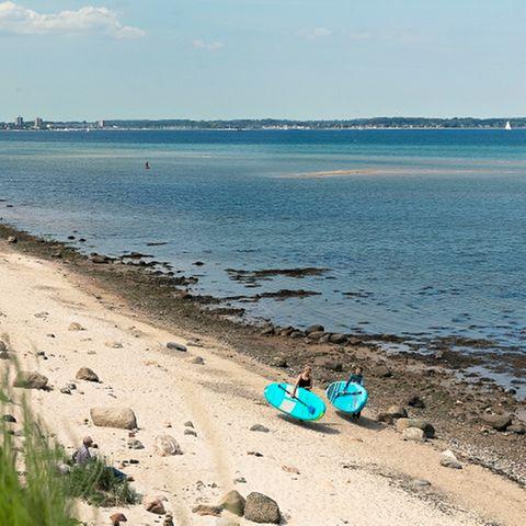 Urlaub allein: Strand