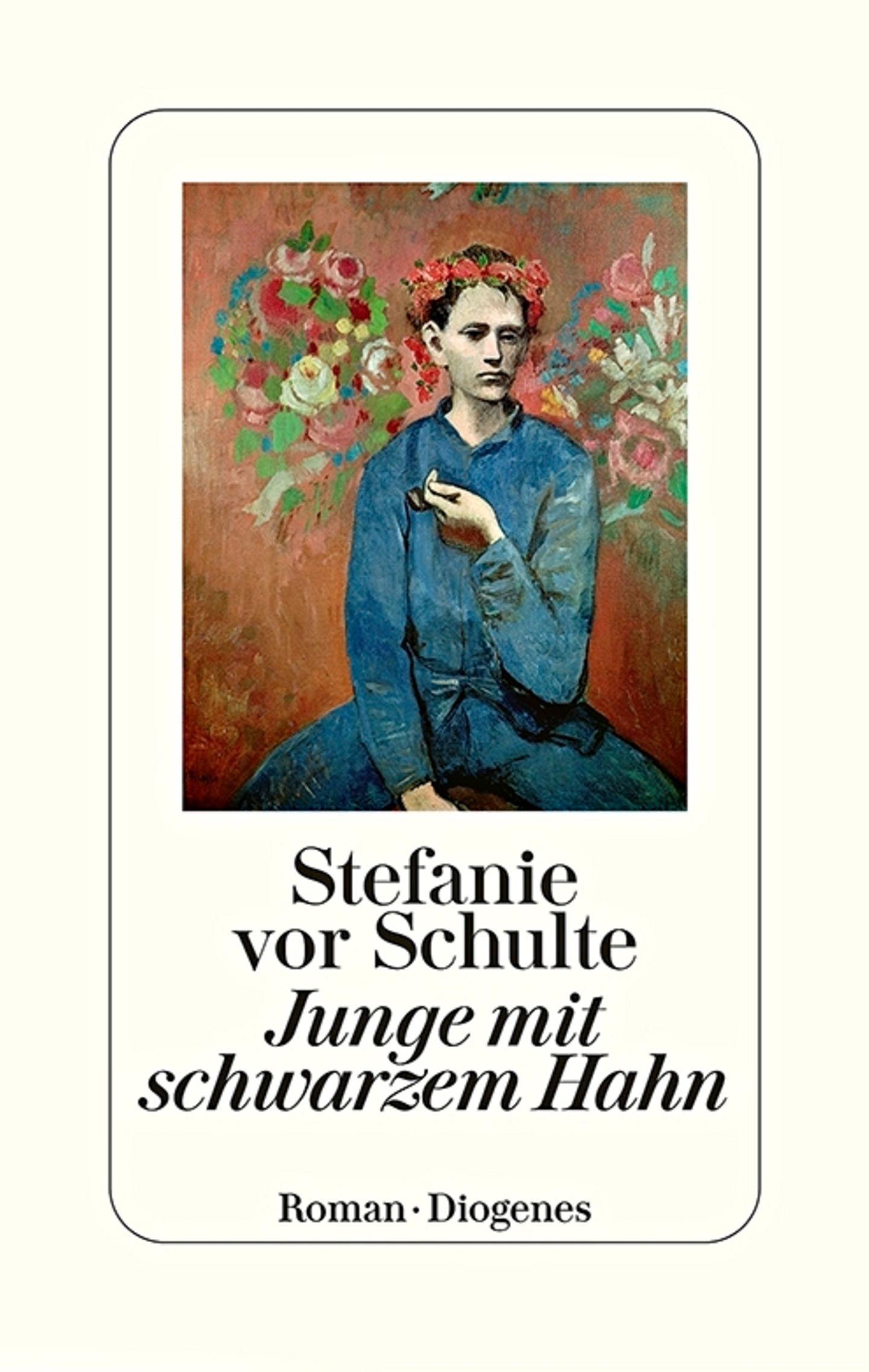 """Buchtipps der Redaktion: Buchcover """"Junge mit schwarzem Hahn"""""""