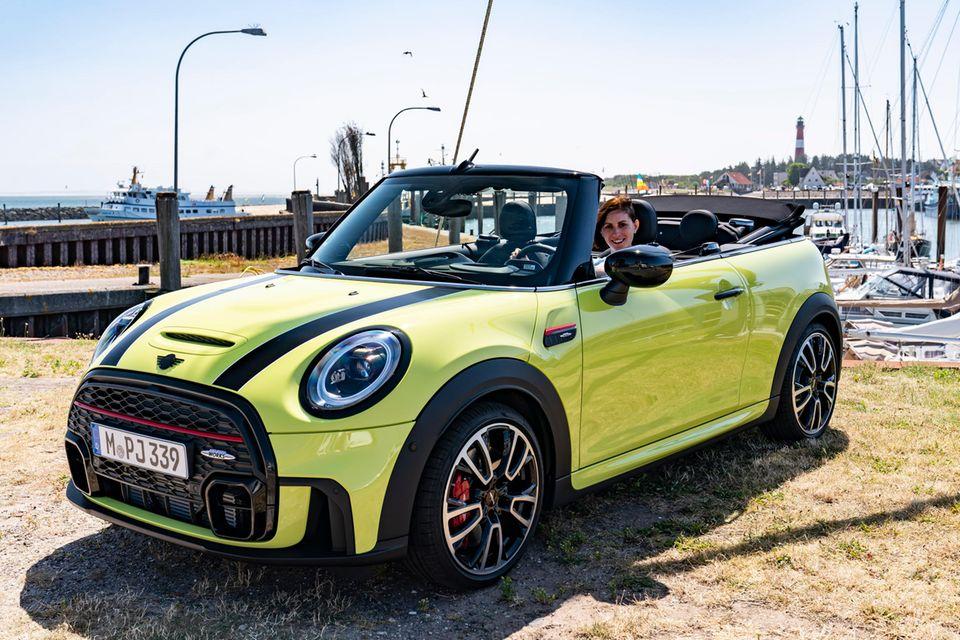 Kathrin hat mit dem neuen Mini Cabrio unvergessliche Stunden verbracht.