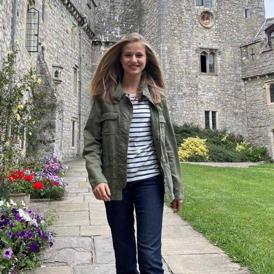Prinzessin Leonor studiert jetzt in Wales