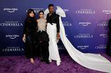 """Idina Menzel,Camila Cabello undBilly Porter  bei der Premierenfeier von """"Cinderella"""""""