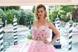 January Jones zeigt sich im Haute-Couture-Look in Venedig