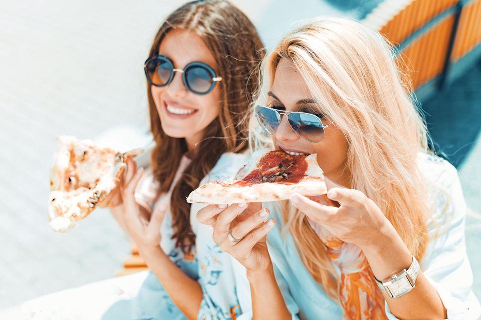 Lieblingspizza über die Persönlichkeit