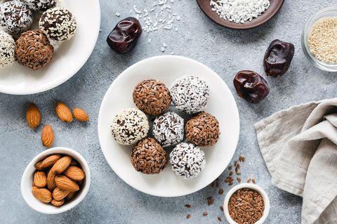 3-Zutaten-Rezept für Energy Balls