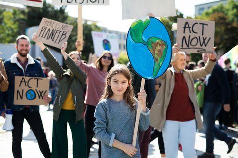 Wohin mit dem X: Klimastreik
