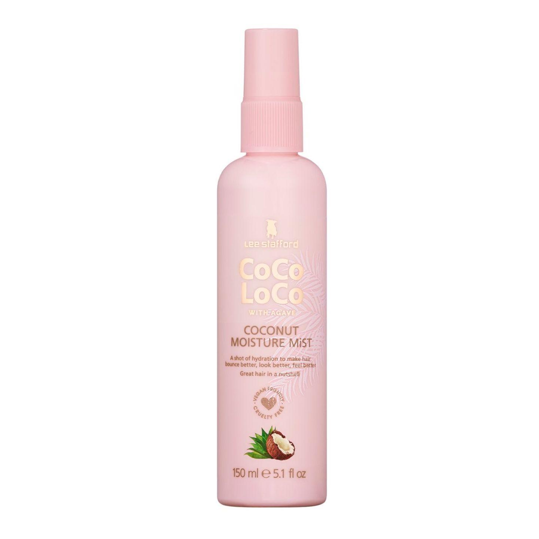Das Coco Loco & Agave Coconut Moisture Mist von Lee Stafford spendet sofort Feuchtigkeit, entwirrt und bändigt krauses, zerzaustes Haar und verleiht ihm Glanz und Feuchtigkeit. Brauchen wir mehr? Für rund 7 Euro erhältlich.