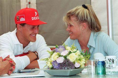 Michael Schumacher + Corinna Schumacher