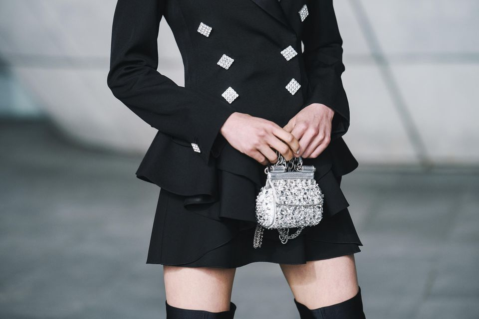 Little Black Dress: Schwarzes Minikleid
