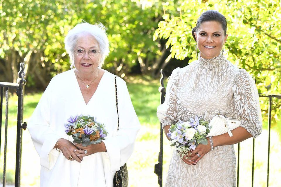 Prinzessin Christina und Prinzessin Victoria bei der Verleihung der Auszeichnung.
