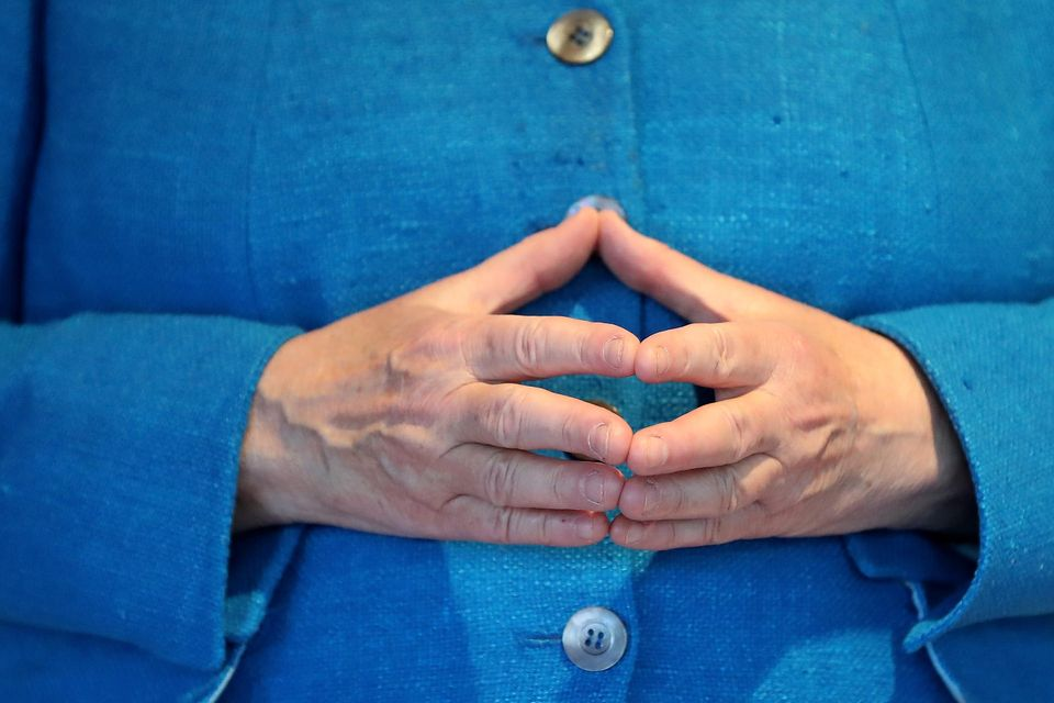 Angela Merkel: Angela Merkels Hände
