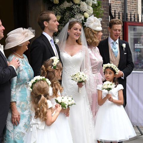 In London läuteten die Hochzeitsglocken! Flora Alexandra Ogilvy hatTimothy Vesterberg das Jawort gegeben – zum zweiten Mal.