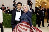Debbie Harry und Zac Posen zeigen sich bei der Met Gala
