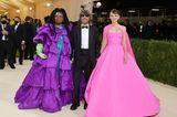 Whoopi Goldberg, Pierpaolo Piccioli und Carey Mulliagn besuchen gemeinsam die Met Gala