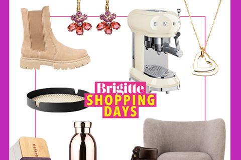 Brigitte Shopping Days: Diverse Produkte