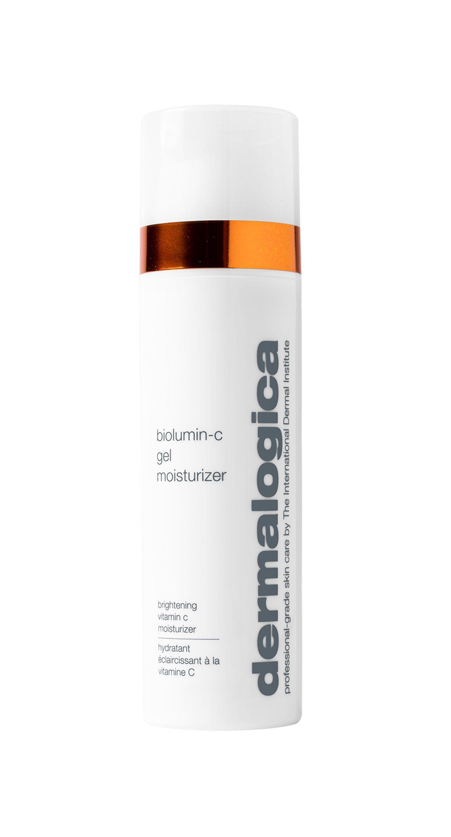 DerBioLumin-C Gel Moisturizer von dermalogica hat eine schwerelose Gel-Formel mit stabilem Vitamin-C, das Schäden durch freie Radikale bekämpft.Auch die Feuchtigkeitsbarriere der Haut wird gestärkt und verhilft uns zu einem frischen Hautbild. Für rund 70 Euro erhältlich.