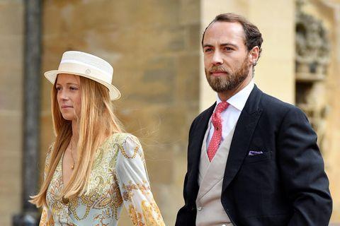 Alizée Thevenet heiratet James Middleton: Sie trägt das Brautkleid von Kates Mutter