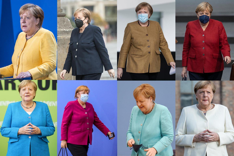 Jacke wie Hose?: Das steckt hinter den Blazern von Angela Merkel