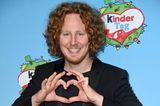 Michael Schulte auf dem roten Teppich anlässlich des Weltkindertages